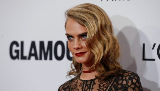 Model Cara Delevingne poses at the Glamour Women of the Year Awards in Los Angeles, California U.S., November 14, 2016. REUTERS/Mario Anzuoni