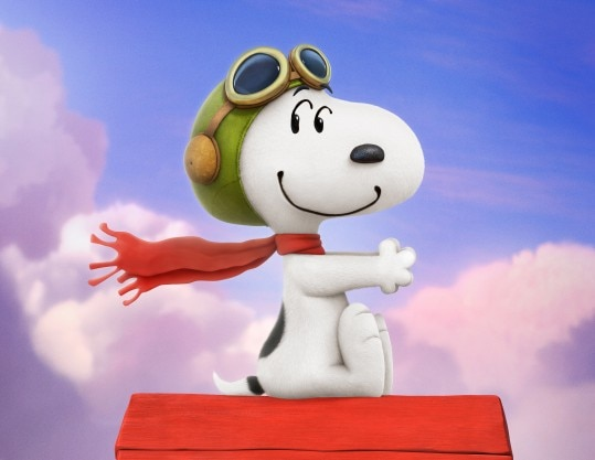 Cena do filme Snoopy & Charlie Brown – Peanuts, O Filme, de Steve Martino