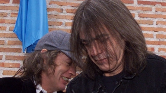 Foto: AFP - Malcolm e Angus Young