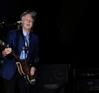 Paul McCartney foi clicado no restaurante Gero, em SP