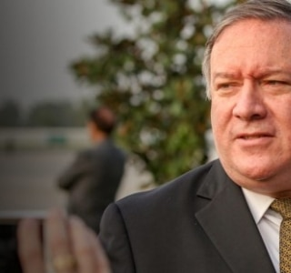 Mike Pompeo, secretário de Estado, é Person of the Year com Bolsonaro