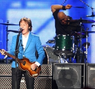 Começa o show de Paul McCartney