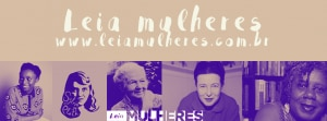 Banner do projeto Leia Mulheres