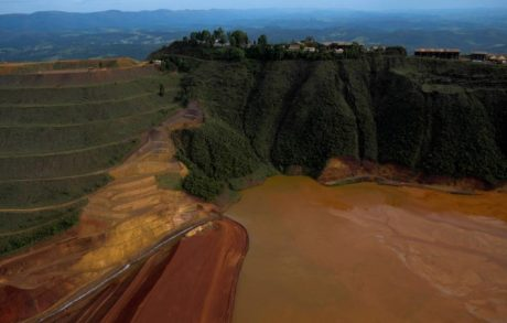 BARRAGEM DE BRUMADINHO. FOTO: WASHINGTON ALVES/REUTERS