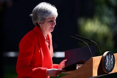 THERESA MAY. FOTO: HANNAH MCKAY/REUTERS