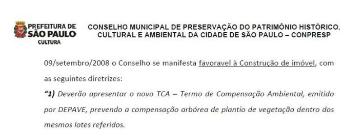 imagem 6 (documento de resposta do Conpresp)