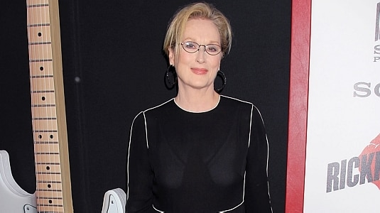 Meryl Streep interpretará estrela do rock em 'Ricki and the Flash'