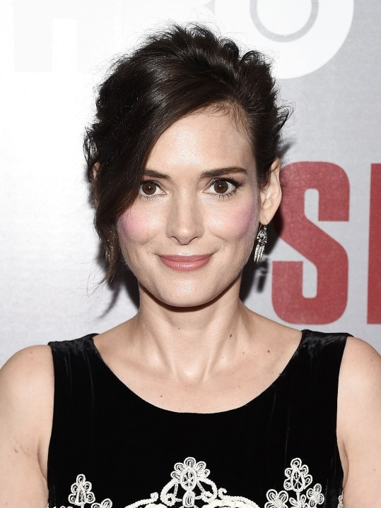 Winona Ryder, no New York Times Center, em 11 de agosto de 2015. Foto: Andrew H. Walker/Getty Images/AFP