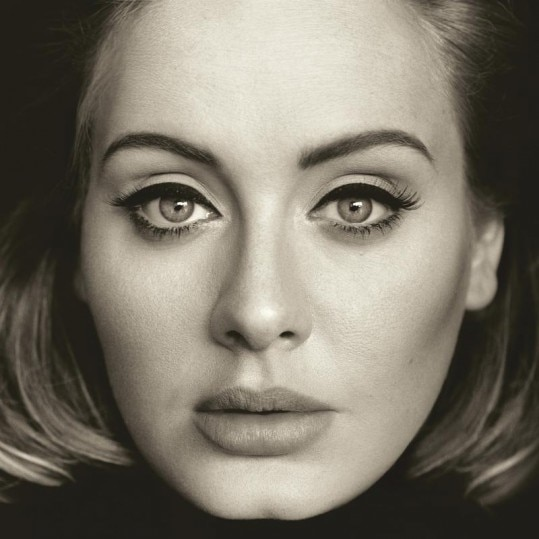 """This CD cover image released by Columbia Records shows """"25,"""" the latest release by Adele. The album will be released on Nov. 20. (Columbia via AP)"""