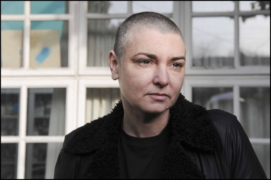 Singer Sinead O'Connor at her home in County Wicklow, Ireland, Feb. 3, 2012. O'Connor, newly married, released her new album