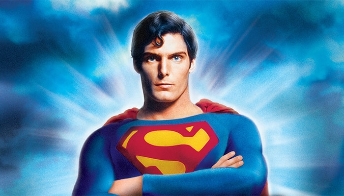 Christopher Reeve, como Superman