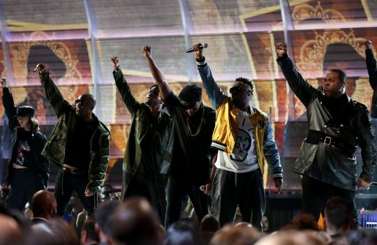 Tribe Called Quest se apresenta no Grammy 2017. Foto: REUTERS/Lucy Nicholson