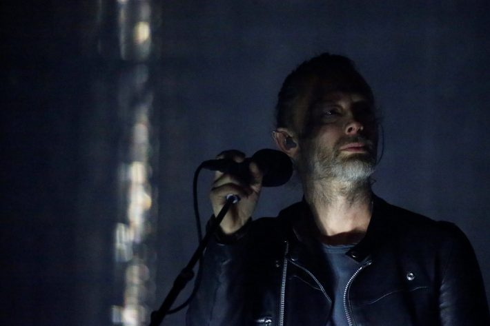 Lead singer of Radiohead Thom Yorke performs on the opening day of the Coachella Valley Music and Arts Festival in Indio, California, U.S., April 14, 2017. REUTERS/Carlo Allegri