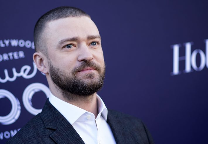(FILES) This file photo taken on December 6, 2017 shows actor/singer Justin Timberlake at The Hollywood Reporter 2017 Women In Entertainment Breakfast in Hollywood, California. Pop superstar Justin Timberlake on January 2, 2018 announced his first album in nearly five years, promising more