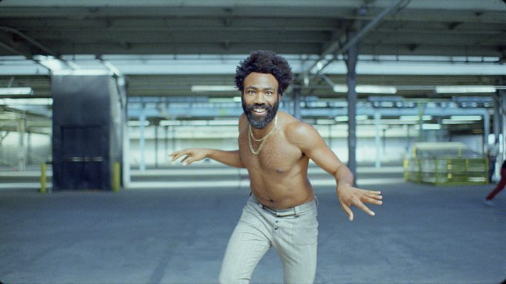 The music video for Childish Gambino's