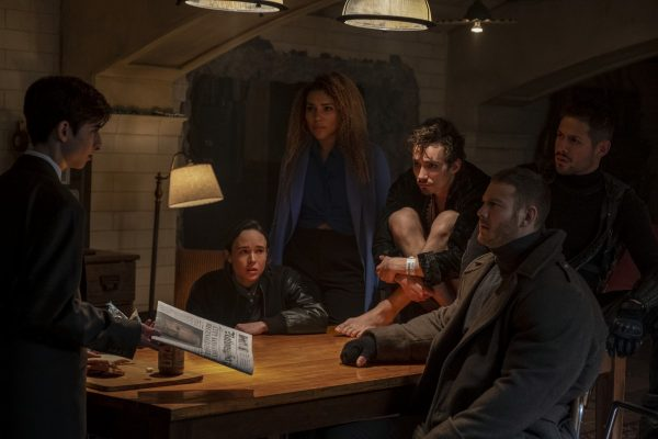 Cena da série 'The Umbrella Academy' (foto Netflix)
