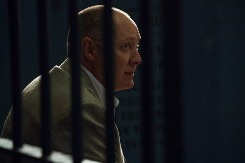 Cena da sexta temporada de 'The Blacklist', com James Spader (foto NBC)