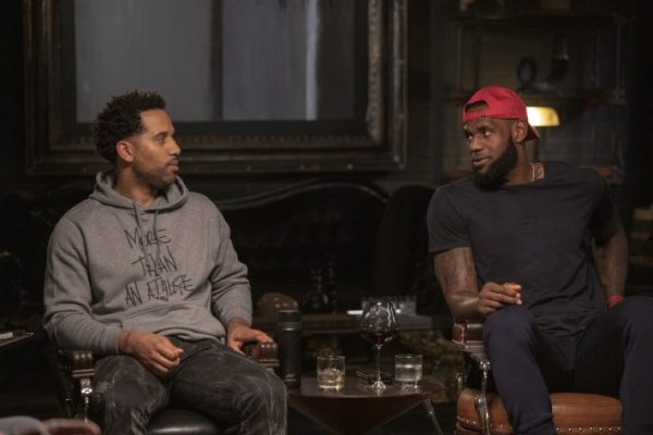 Série 'The Shop', com Maverick Carter e LeBron James (foto HBO)