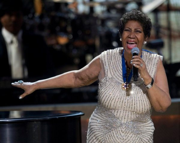 A cantora Aretha Franklin (foto Jose Luis Magana/ Reuters)