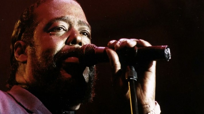 O cantor Barry White (foto Canal Curta)
